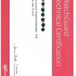 ウォッチガード社 認定技術者資格を取得