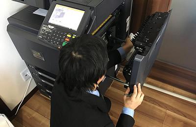 工事・メンテナンス - サービス案内 - 三和事務機販売株式会社